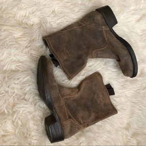 Steve Madden Houston distressed leather boot